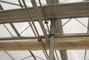 Periodo de varias láminas de policarbonato de efecto invernadero vegetal