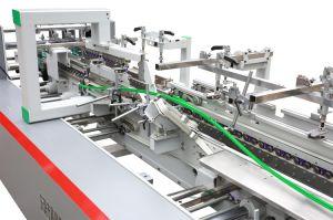 Multifuncional automático da caixa de papelão fazendo a máquina de dobragem e a colagem (YL-1100PC)
