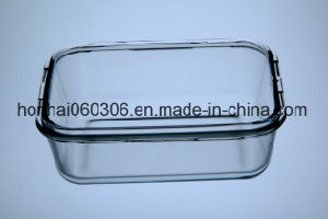 Pyrex Glas-luftdichter Nahrungsmittelvorratsbehälter