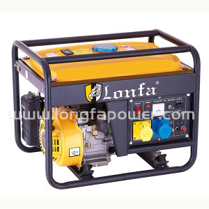 5kVA 5kw 3 Phase Portable Hand Anfang Gasoline Generator (Set)