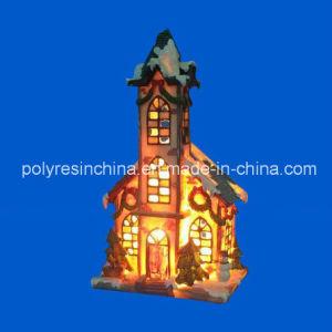 De Ambachten van de Vakantiewoning van Kerstmis van de Decoratie van Polyresin