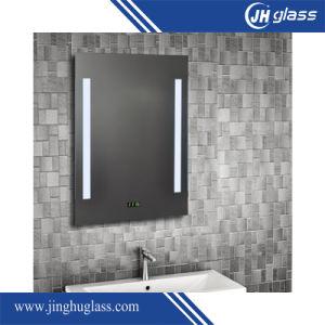 Montage mural de 5 mm Profilé en aluminium Ce approuvé Hotel salle de bains miroir lumineux à LED