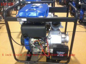 Irrigation Use를 위한 4 인치 Single Stage Centrifugal Key Start Diesel Water Pump