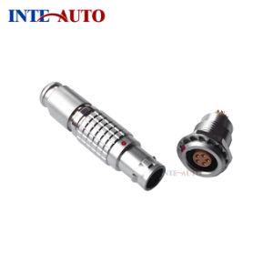 1B M12 de 5 vías Push-Pull Conector autoblocante