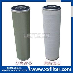 De Machine van de Zuiveringsinstallatie van de Filter van de Olie van de Dehydratie van de Samenvoeging van pfc8314-150-z-KZ van de Filter van het Baarkleed van de vervanging