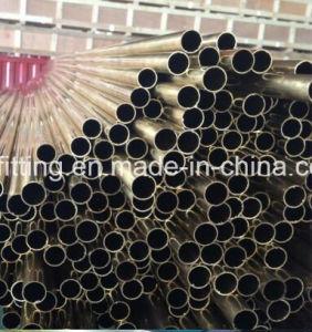 Astmb111 Tubo de latón Almirantazgo para Intercambiador de calor
