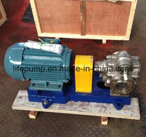 KCB300 pompe à huile de pignon en acier inoxydable