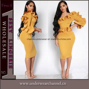 2018 Comercio al por mayor celebridad de las mujeres por la noche de encaje vestidos de fiesta (Tony8048)