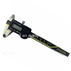Três Botões de Ferramentas de medição de calibres digitais
