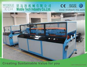 Plastik-PVC/PE/PP+ hölzerner (WPC Zusammensetzung) breiter hohler Tür-Vorstand/Panel-Strangpresßling/Extruder, der Maschine herstellt