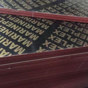 Черный/Коричневый пленки, с которыми сталкиваются фанера/Shuttering фанера для строительства