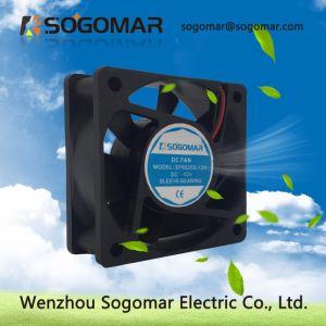 60x60x25mm de bonnes performances du ventilateur de refroidissement DC 12V 4500tr/min