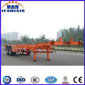 콘테이너 수송 해골 콘테이너 유형 트럭 트레일러