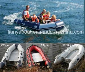 Liya-6.5de 2m m botes de rescate inflables con motor