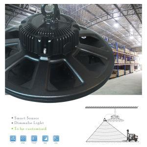 Alumínio 150W&lentes de PMMA OVNI Industrial Luz High Bay
