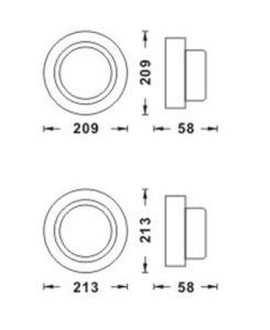 Производителем для использования вне помещений и садом светодиодный индикатор
