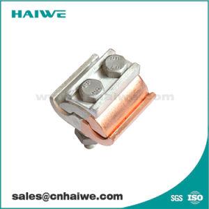 Morsetto della scanalatura di parallelo della lega di alluminio di Jbk per il conduttore