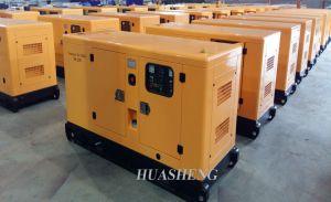 Weifang Weichai Ricardo potencia del motor diesel generador silencioso
