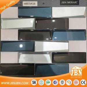 중국 현대 디자인 유리제 미러 혼합 색깔 사다리꼴 모자이크 (M855416)
