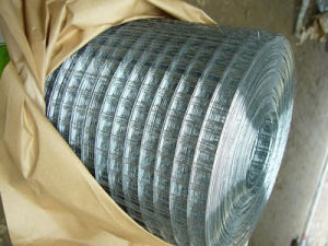 エレクトロは溶接された金網に電流を通した