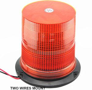12V-24Vこはく色LEDのストロボの信号のフォークリフトの警告標識