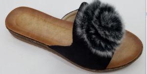 Femme élégante pantoufles Mesdames Espadrille Chanvre chaussures sandales de filtre en coin
