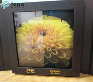 Il ferro basso AR ricoperto fa galleggiare vetro riflettente di arte dello strato l'anti (AR-TP)