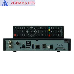 Zgemma H. 7s 4K UHD Empfänger-Doppelkern mit 2*DVB-S2/S2X+DVB-T2/C dreifachem Tuner FTA