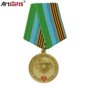 Médaillon de souvenirs d'artisanat multifonction simple 3D de la mode militaire Médaille de métal