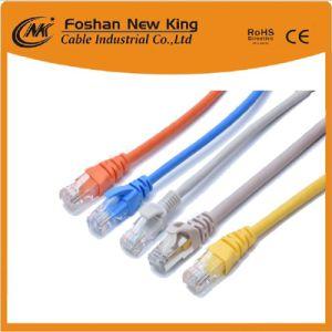 precio de fábrica fiable de red UTP CAT6 cable LAN Cable con conector RJ45 Cable de conexión