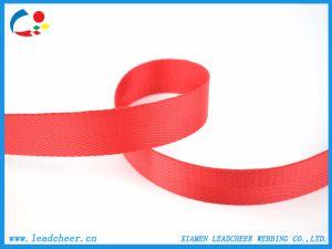 1 de advertencia de la cinta de nylon rojo Decroation Cinta de tejido estrecho