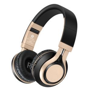 Bluetoothの携帯用ヘッドホーンマイクロフォンが付いているステレオ音楽ヘッドバンドサポートTFカード