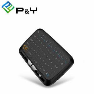 2.4G Mini-computador portátil sem fio do H18 Teclado com touchpad Mini Mouse ar para Caixa de TV Android