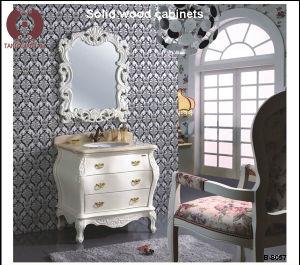 Muebles de dormitorio madera maciza Sanitarios Cuarto de Baño (B8057 ...