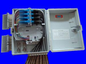 IP65 класса черный цвет 16 ядер волокна распределительной коробки