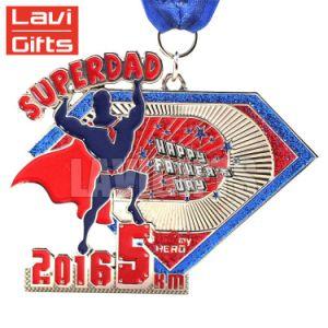 アクリルの版が付いている昇進のカスタム透過金属のボクシングメダル