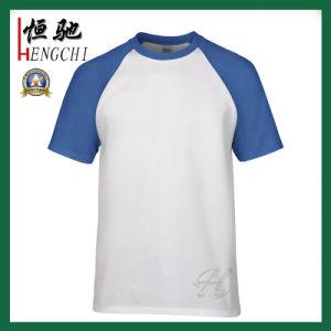 남자를 위한 간결에 의하여 소매를 다는 Round/V 목 캐주얼 셔츠