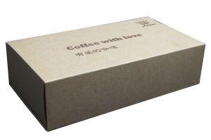 Envasado de Café cajas cajas de papel Kraft Caja de regalo