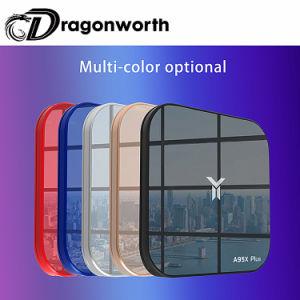 bunter und Spiegel-Entwurf A95X plus 4/32GB S905 Y2 intelligenten Android Fernsehapparat-Kasten