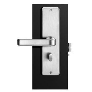 Sistema Keyless elettronico astuto della serratura di portello dell'hotel della scheda chiave RFID di modo dello schermo dell'affissione a cristalli liquidi