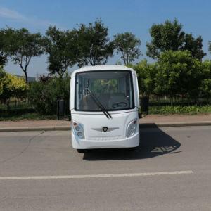 Aprovado pela CE 11 lugares autocarro eléctrico com estrutura Alunimum de Alta Velocidade