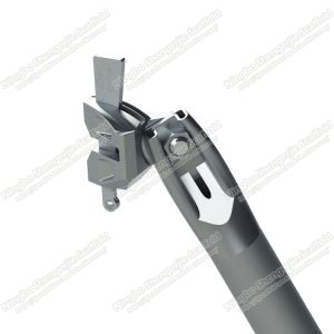 Impalcatura di Ringlock di sostegno di galvanizzazione di HDG della parentesi graffa della baia di alta qualità