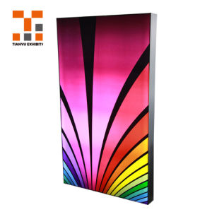 Предложение стены Мутянъи двойной стороны без постоянного безрамные натяжение ткани Lightbox