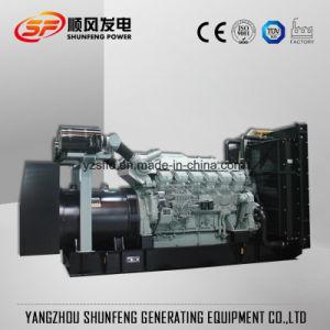 de Diesel Genset van de 1000kVA800kw Mitsubishi Electric Macht