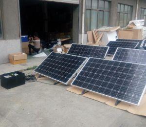 Condizionatore d'aria portatile mobile di energia di energia solare di CC 24V