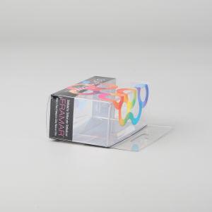 パフの卸し売り構成の基礎パフのスポンジのプラスチックの箱