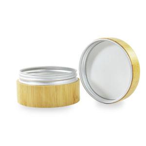 皮クリームのパッケージのための30gタケ装飾的な瓶の内部アルミニウム