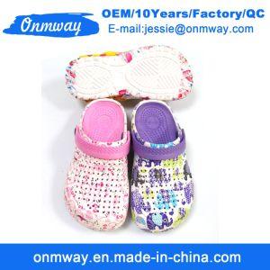 Venta de plástico caliente EVA Garden zapatos niño zapatos Clog
