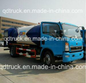 Certificado ADR bowser de gas de 12m3 de carretilla elevadora, camión de recarga de gas