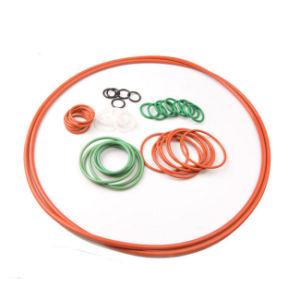 NBR EPDM SBR Viton Silicone Nr cor vermelha do anel de borracha